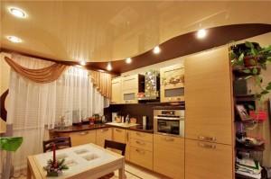 натяжной потолок для кухни в Перми