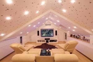 потолки в доме